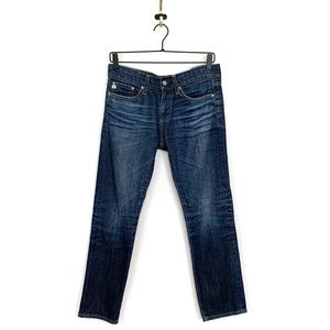 AG Adriano Goldschmied Piper Slim Crop Jeans Sz 25